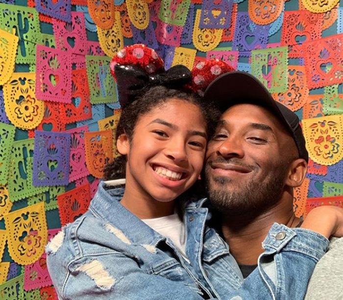 Kobe Bryant con su hija Gianna