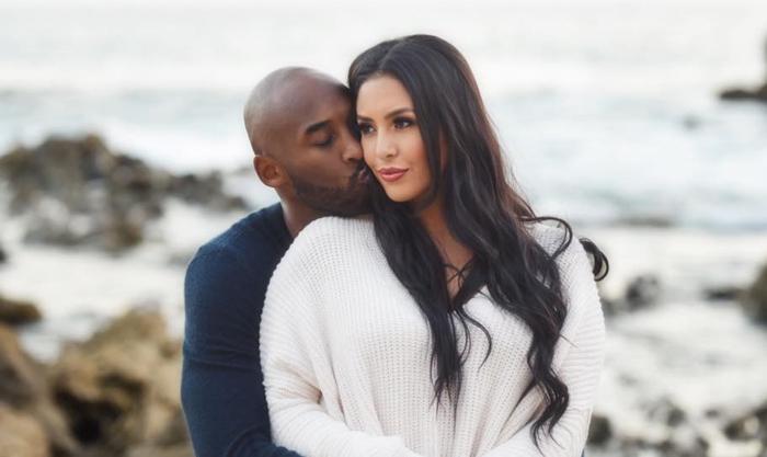 Kobe Bryant y su mujer, Vanessa