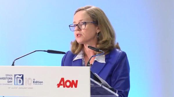 La ministra Nadia Calviño