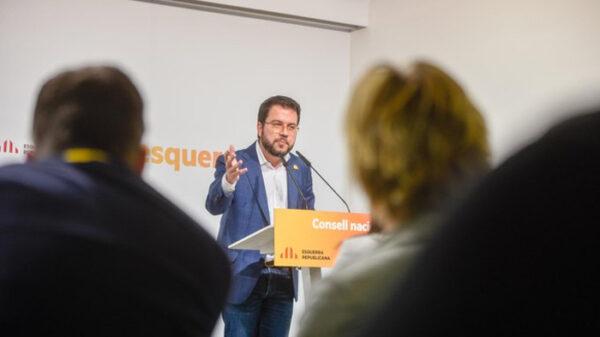 Pere Aragonés, vicepresidente de la Generalitat