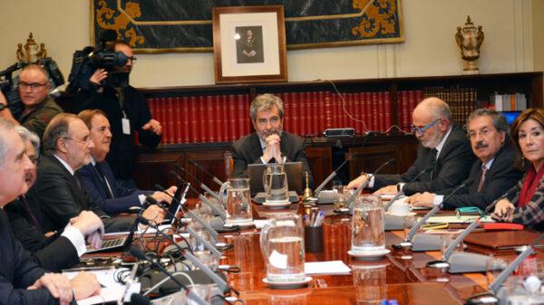 Reunión del Consejo General del Poder Judicial