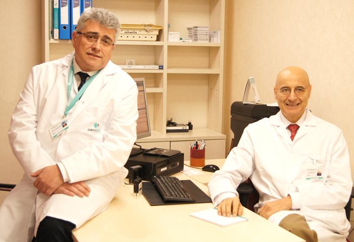Los doctores Tabernero y Cisneros