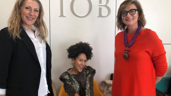 De izquierda a derecha: Almudena González, enfermera y experta en micropigmentación; Duduyemi Afuye, coach de imagen emocional y Susana Macpherson, estilista y asesora de imagen