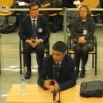 Josep Lluís Trapero y el resto de acusados en el juicio de la Audiencia Nacional