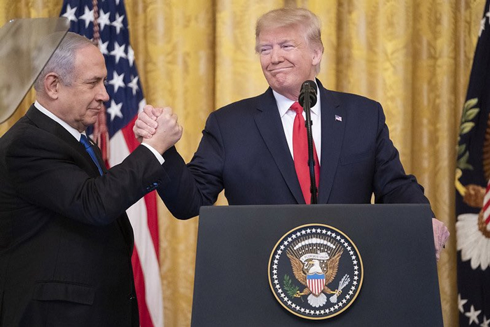 Donald Trump y Netanyahu