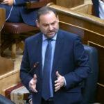 José Luis Ábalos en el Congreso