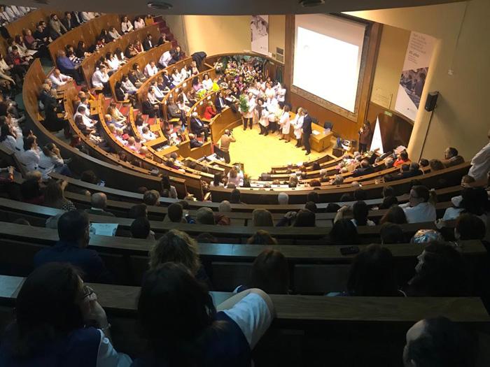 El Aula Magna de la Fundación Jiménez Díaz se llenó un año más para celebrar esta jornada