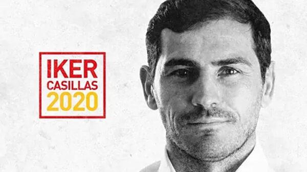 Iker Casillas como candidato de la Federación