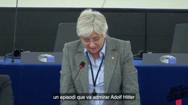 Clara Ponsatí en el Parlamento Europeo