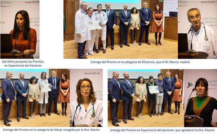 Entrega de los 4 Premios de Experiencia del Paciente, Transformación Digital y Salud