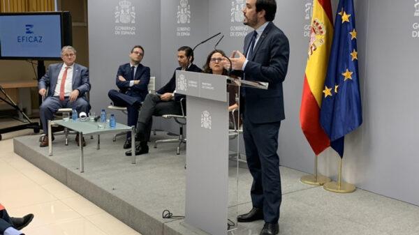 El ministro de Consumo, Alberto Garzón