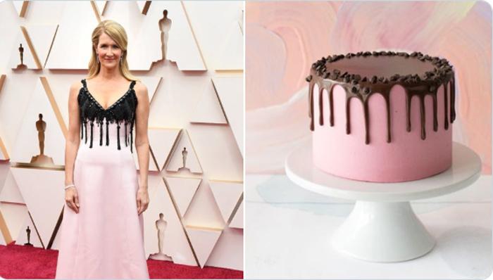 Laura Dern, comparada con una tarta