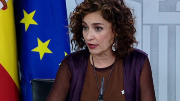 La ministra y portavoz María Jesús Montero