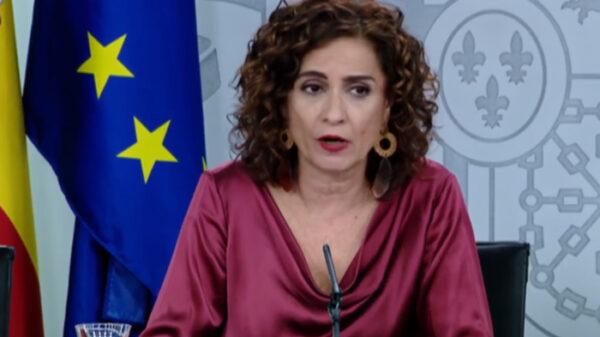 Ministra portavoz, María Jesús Montero