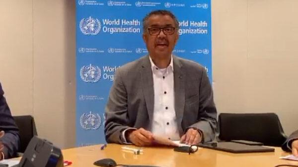 El director general de la OMS, Tedros Adhanom Ghebreyesus