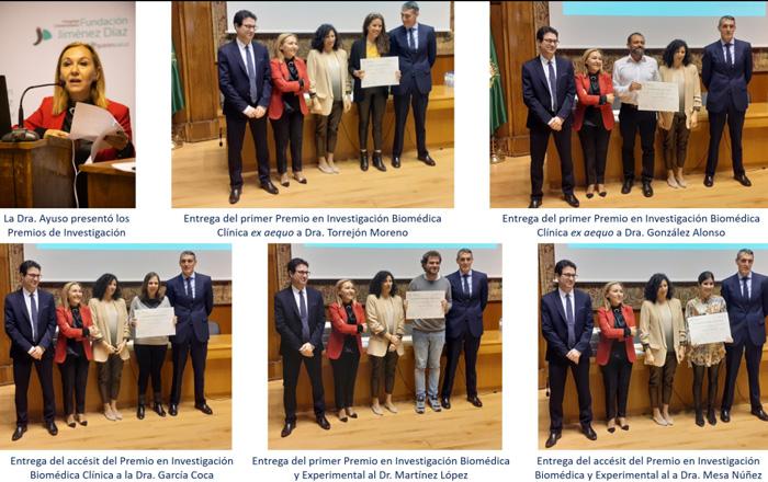 Entrega de los 16º Premios de Investigación