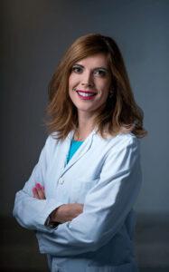 La doctora Silvia Pérez