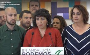 Teresa Rodríguez tras abandonar Podemos