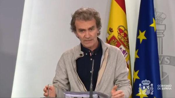 Fernando Simón, director del Centro de Emergencias Sanitarias