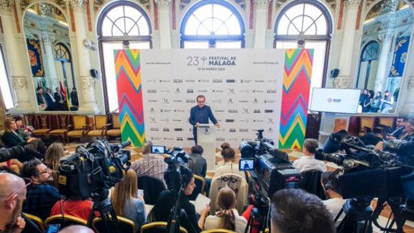 Presentación del Festival de cine de Málaga