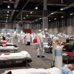 Hospital de campaña en Ifema