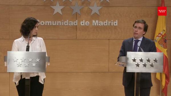 Díaz Ayuso y Martínez Almeida