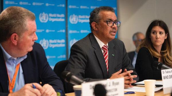 El Dr. Tedros Adhanom Ghebreyesus, director general de la OMS