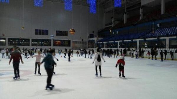Pista de patinaje del Palacio de Hielo