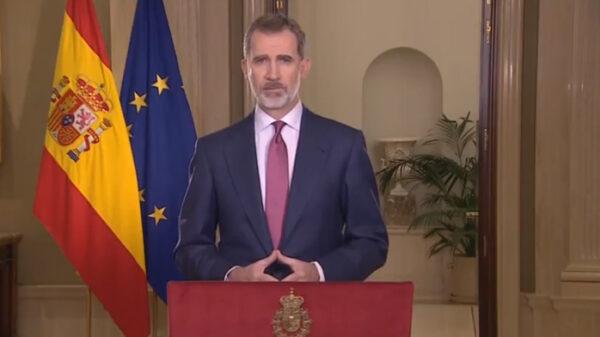 El Rey en su discurso por el coronavirus