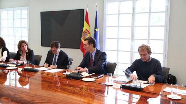 Sánchez en la Comisión de Seguimiento del coronavirus