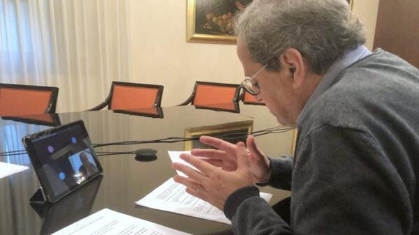 El presidente de Cataluña, Quim Torra