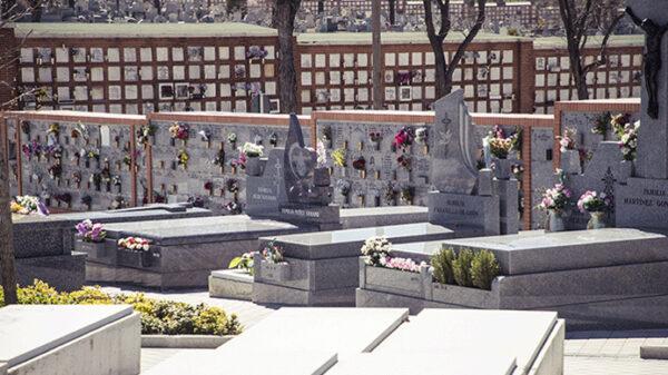 Cementerio de La Almudena, en Madrid