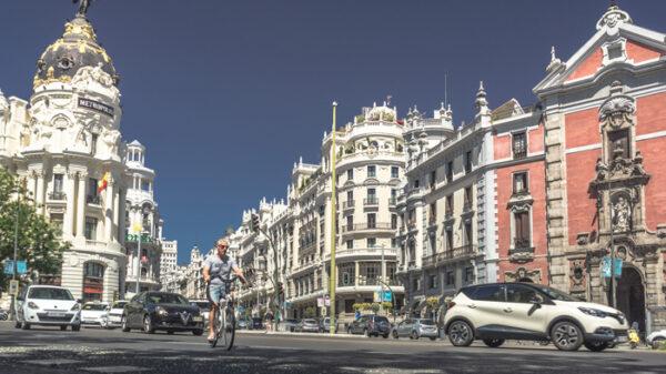 Gran Vía, en Madrid