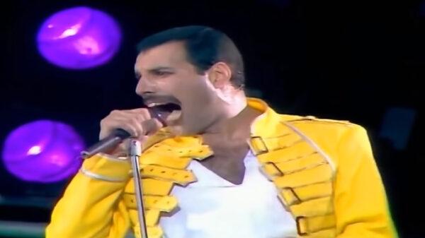Freddy Mercury, cantante de Queen