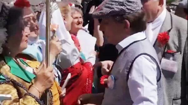 Martínez Almeida en las Fiestas de San Isidro de 2019
