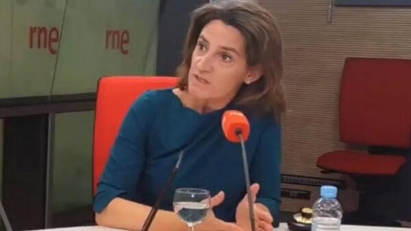 La ministra Teresa Ribera