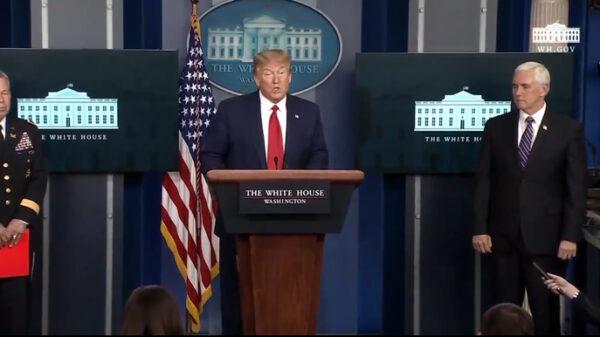 Trump en rueda de prensa