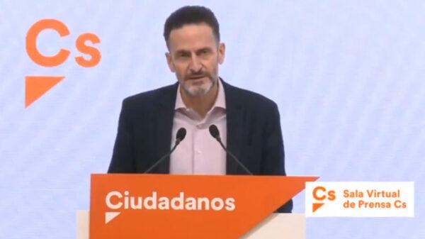 El portavoz de Ciudadanos en el Congreso, Edmundo Bal