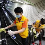 Trabajadores de Corea del Sur