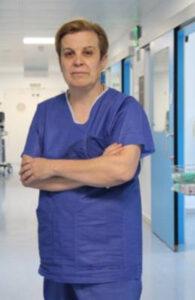 La Dra. Mª Carmen García Torrejón, jefa de la UCI y del Servicio de Medicina Intensiva del hospital