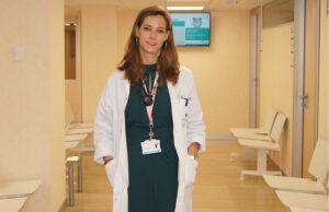 La doctora Esther Holgado