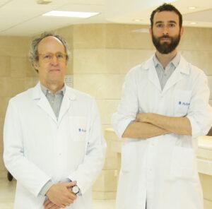 Los doctores Gil-Nagel y Aledo