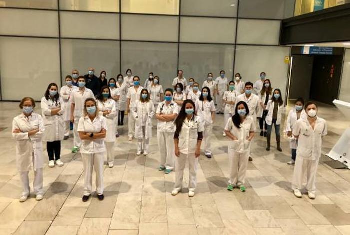 Personal del Hospital Universitario Rey Juan Carlos
