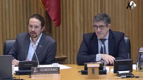 Pablo Iglesias y Patxi López