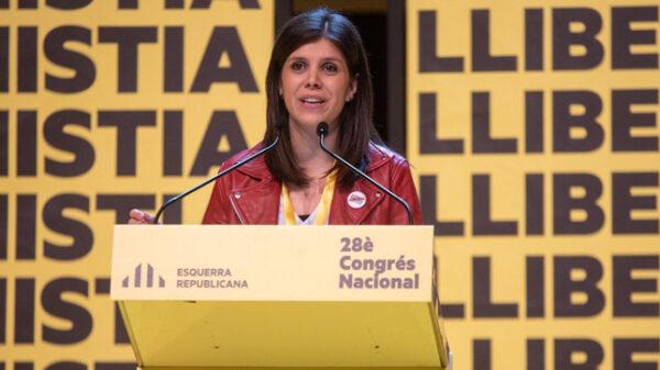 La portavoz y secretaria general adjunta de ERC, Marta Vilalta