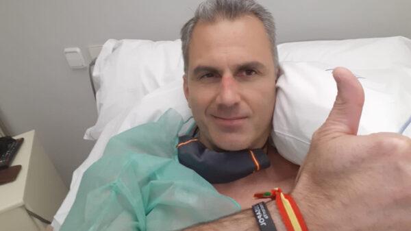 Javier Ortega Smith, ingresado en el hospital
