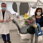 Primera paciente de cirugía maxilofacial