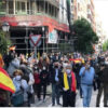 Protestas contra el Gobierno en la zona de Núñez de Balboa (Madrid)