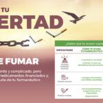 Cartel de la campaña del COFM para la deshabituación tabárquica