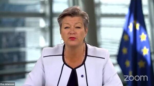 La comisaria de Interior de la UE, Ylva Johansson